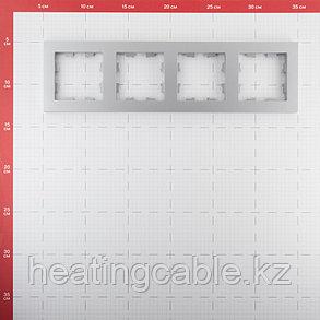 Atlas Design рамка 4-постовая алюминий, фото 2
