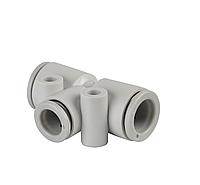 Тройник быстросьемный Т-образный для пневмошлангов 12 мм