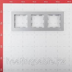 Atlas Design рамка 3-постовая алюминий, фото 2