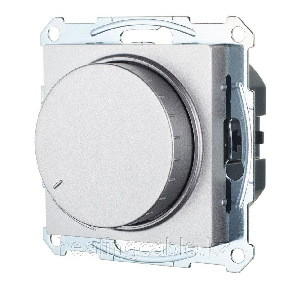 Atlas Design светорегулятор (диммер) поворотно-нажимной LED,RS,315 Вт, МЕХАНИЗМ, скрытая установка алюминий