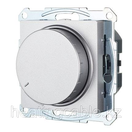 Atlas Design светорегулятор (диммер) поворотно-нажимной LED,RS,315 Вт, МЕХАНИЗМ, скрытая установка алюминий, фото 2