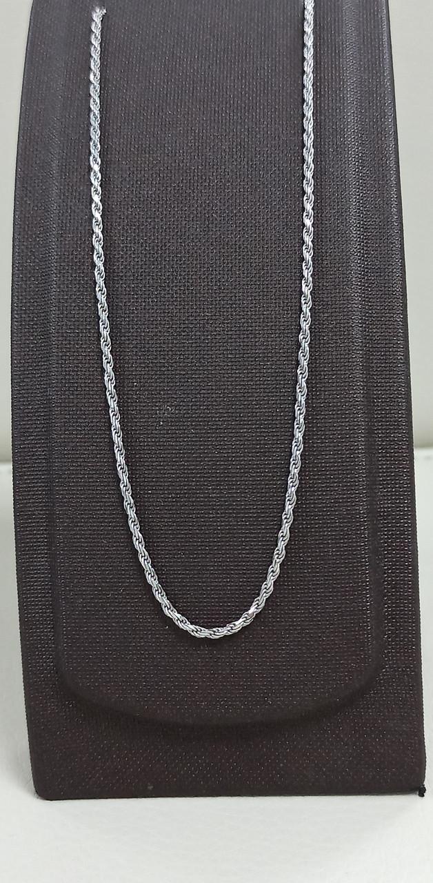 Цепь серебро размер 35-55 см( регулируется).