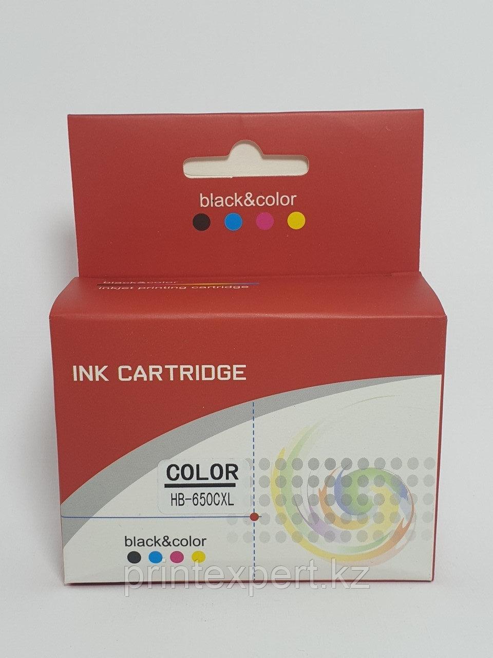 Картридж  CZ102AE 650XL color