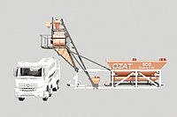 Бетоносмесительные узлы БСУ compact 25 куб/час