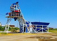 Бетоносмесительный узлел БСУ compact 60 куб/час