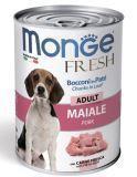 Monge Fresh 400г со свининой рулет для взрослых собак