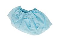 Бахилы низкие спанбонд пл.42 голубые №25 | Гекса-нетканые материалы, 10%