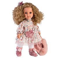 Кукла Елена 35см, блондинка с кудрявыми волосами (LLORENS, Испания)