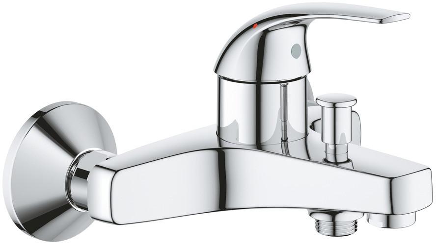 Смеситель для ванны Grohe BauCurve, однорычажный, с аэратором 23599000