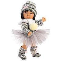Кукла Лу 28 см., балерина азиатка (LLORENS, Испания)