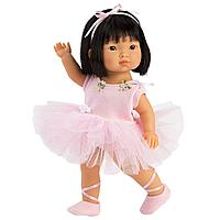Кукла Лу 28см, брюнетка балерина (LLORENS, Испания)
