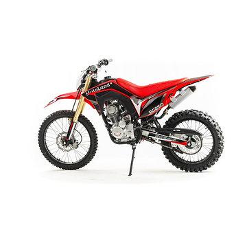 Кроссовый мотоцикл MotoLand FC250, красный