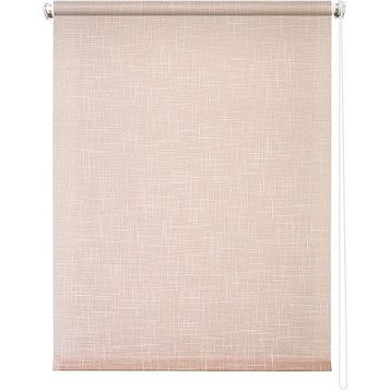 Рулонная штора «Шантунг», 120 х 175 см, цвет персик