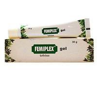 Фемиплекс вагинальный гель, 30 гр,  Charak, уменьшает чрезмерные выделения из влагалища