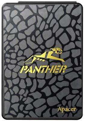 "SSD 960 Gb Apacer Panther AS340, 2.5"", read 550 Мбайт/с, write 510 Мбайт/с, SATA III-600, TLC"
