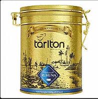 Tarlton (Тарлтон) Золото региона Рухуна 150г. чёрный плантационный Размер: 16см.*9,5см.(Шри-Ланка)