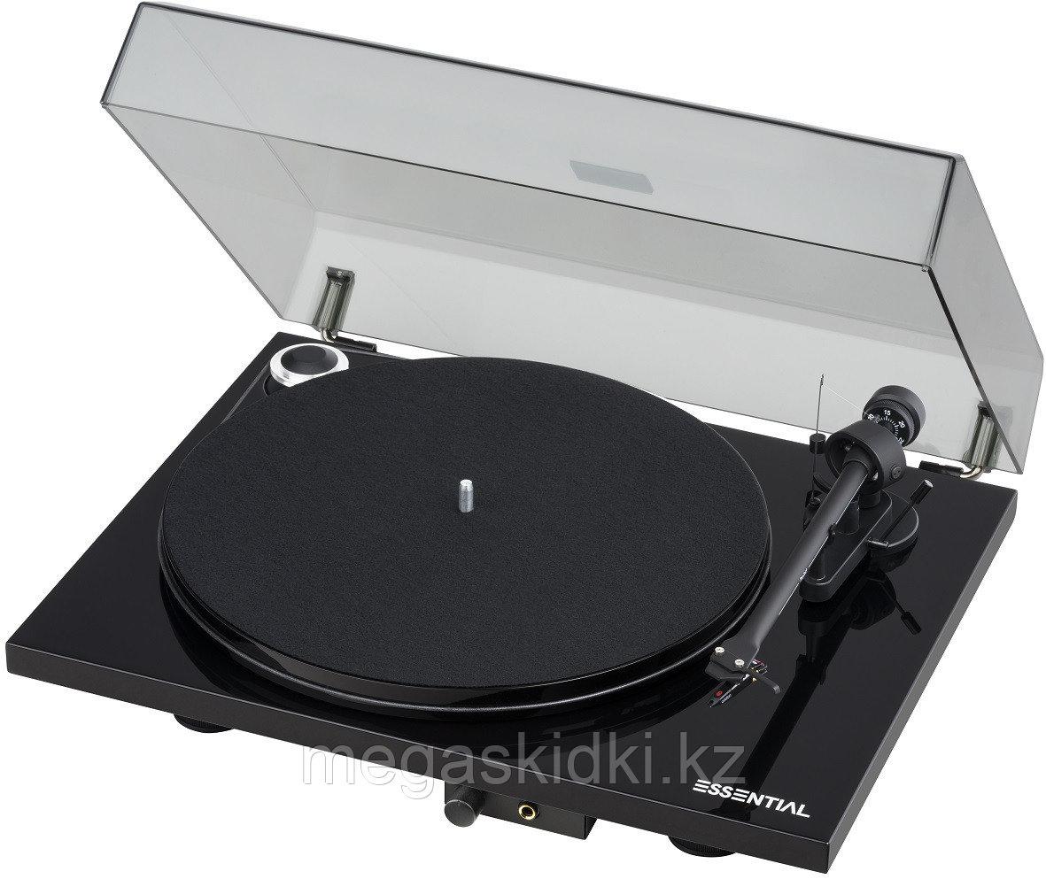 Виниловый проигрыватель Pro-Ject Essential III Headphone OM10 черный