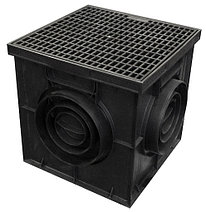 Дождеприёмник  AQUASTOK 300x300 (решетка-пластик)