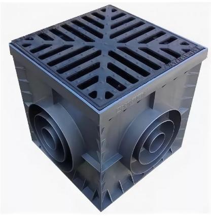 Дождеприёмник  AQUASTOK 300x300 (решетка-чугунная)