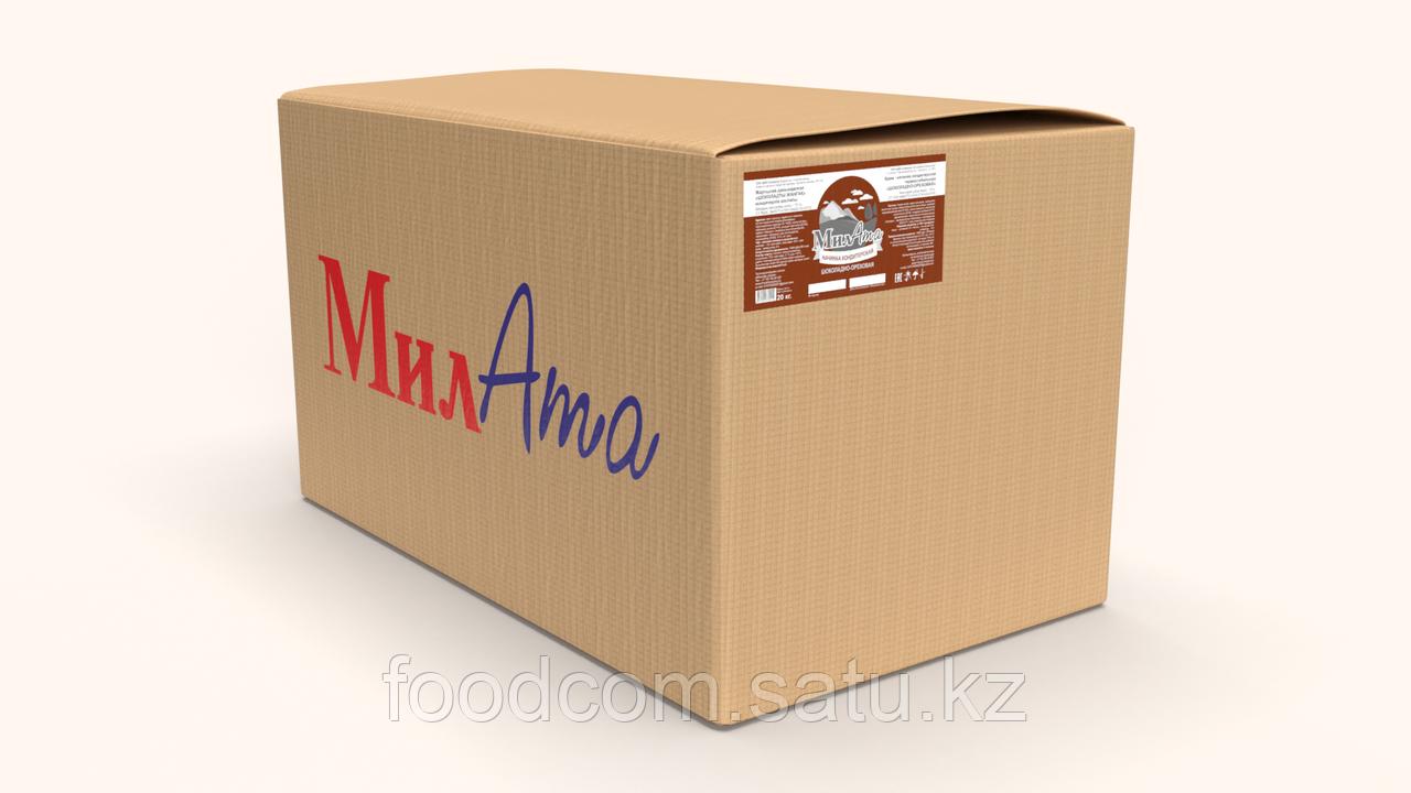 """МилАТА """"Шоколадно - ореховая"""" - молочная кондитерская начинка (термостабильная), 20кг - фото 1"""