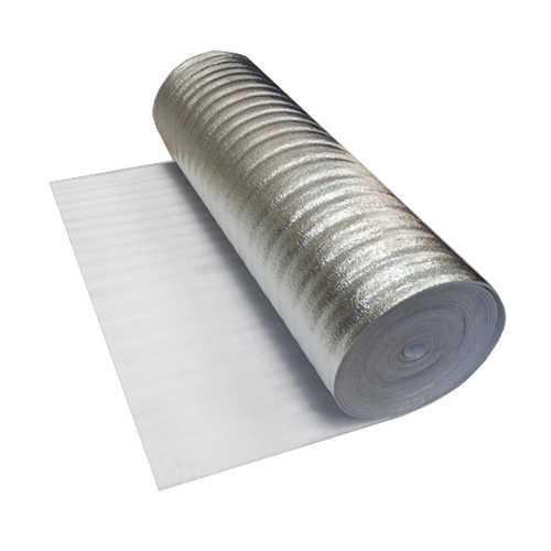 Подложка для ламината 5 мм фольга 40 м2