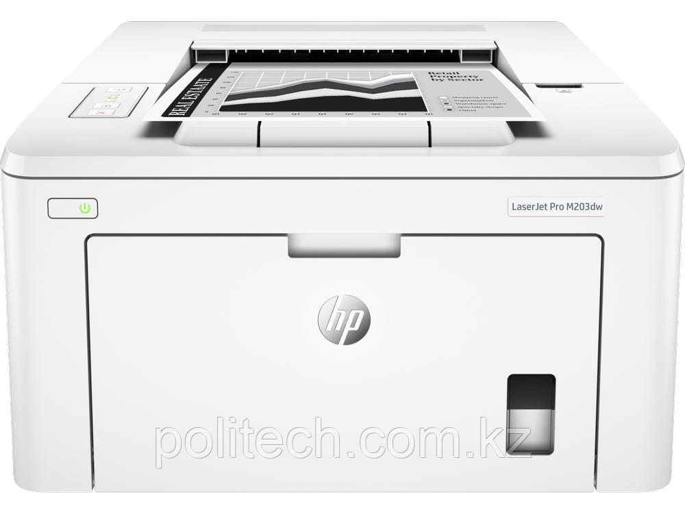 Принтер лазерный HP LaserJet Pro M203dw (G3Q47A), А4/ 1200x1200 dpi/ Duplex/ USB+LAN+Wi-Fi