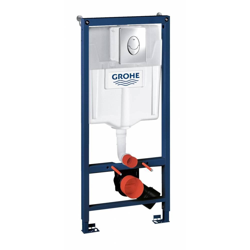 Инсталляция для унитаза подвесного стандартная, комплект GROHE Rapid SL 38721001
