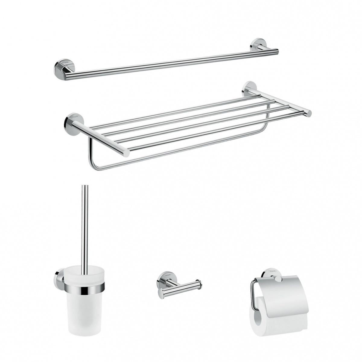 Аксессуар для ванной HansGrohe Logis Universal HG41728000 5 предметов