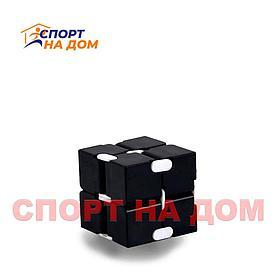 """Антистресс """"Бесконечный кубик""""цвет (черный)"""
