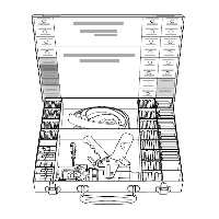 Набор для опрессовки с гидравлическим прессом PI-TOOL-SET-02