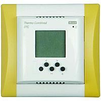 Комплект - термостат DTR, белая рамка Элегант