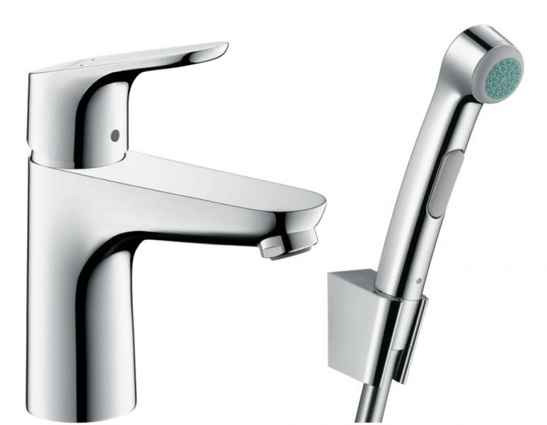 Смеситель для рукомойника с гигиеническим душем HansGrohe Focus HG31927000
