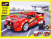 Конструктор Decool 31017 Красная машина 10 в 1, аналог Лего Креатор