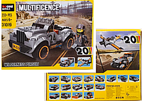Конструктор Decool 31019 Джип 20 в 1, аналог Лего Креатор