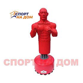 Груша боксерская напольная герман 26 (красный)