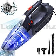 Пылесос автомобильный с фонариком 150W, 5000 PA Vacuum Cleaner VC 108 B