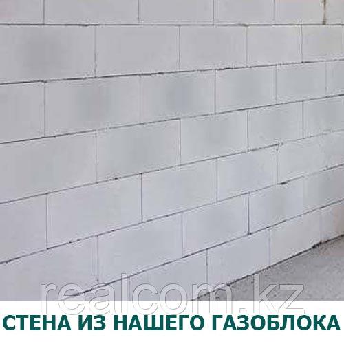 Стена с пеноблока хорошего качества