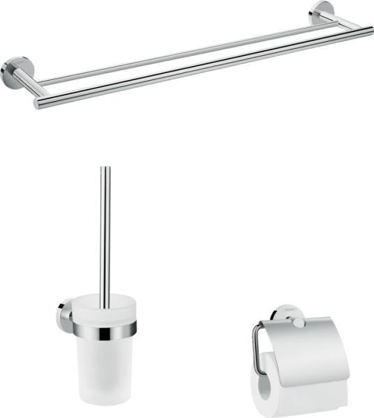 Аксессуар для ванной HansGrohe Logis Set Universal HG41727000 3 предмета