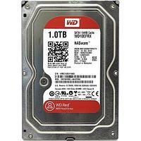 Жесткий диск HDD 1Tb Western Digital RED, SATA-III, 3,5 IntelliPower 64MB (WD10EFRX)