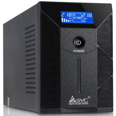 Источник бесперебойного  питания  UPS SVC W-600, 360W, черный