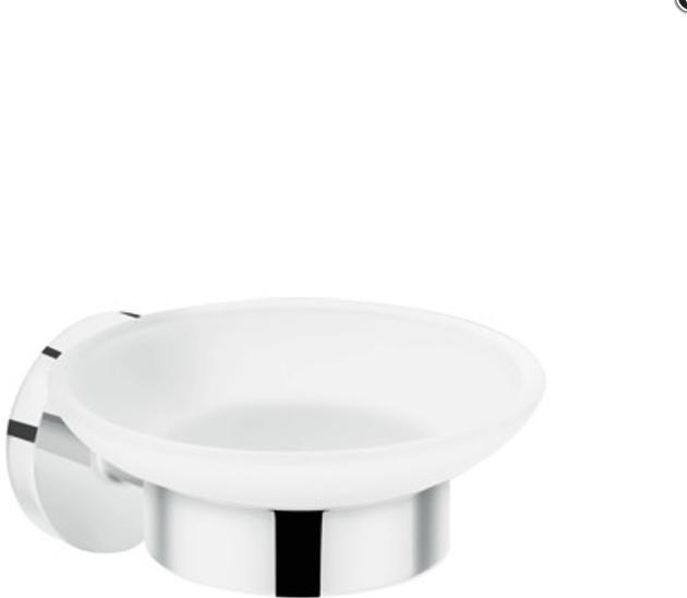 Аксессуар для ванной, мыльница HansGrohe Logis Universal HG41715000 серебристый