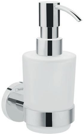 Аксессуар для ванной, дозатор для жидкого мыла HansGrohe Logis Universal HG41714000 серебристый
