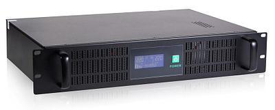 Источник бесперебойного питания UPS SVC RTO-1.5K-LCD, 900W, черный