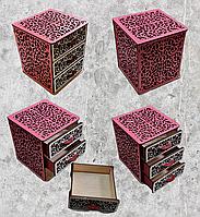 Шкатулка для хранения украшений и принадлежностей