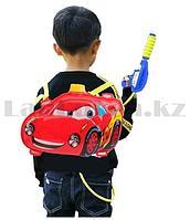 Водный пистолет рюкзак супер Cars Тачки