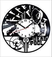 Настенные часы Дэдпул Deadpool, подарок фанатам, любителям, 1795