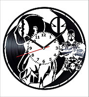 Настенные часы Дэдпул Deadpool, подарок фанатам, любителям, 1796