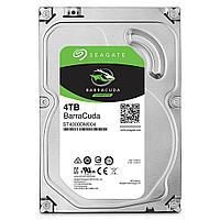 Жесткий диск Seagate BarraCuda, 4000 GB HDD SATA ST4000DM004, 5400rpm, 256MB cache, SATA 6.0 Gb/s