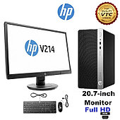 Компьютер-комплект HP Europe/ProDesk 400 G6/MT/Core i3/9100/3,6 GHz/8 Gb/256*1000 Gb/DVD+/-RW/Graphics/UHD 630