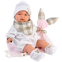 Пупс Малышка 38см, с одеялком и слюнявчиком (LLORENS, Испания)
